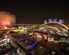 The official opening of Klahifa International Stadium in Qatar