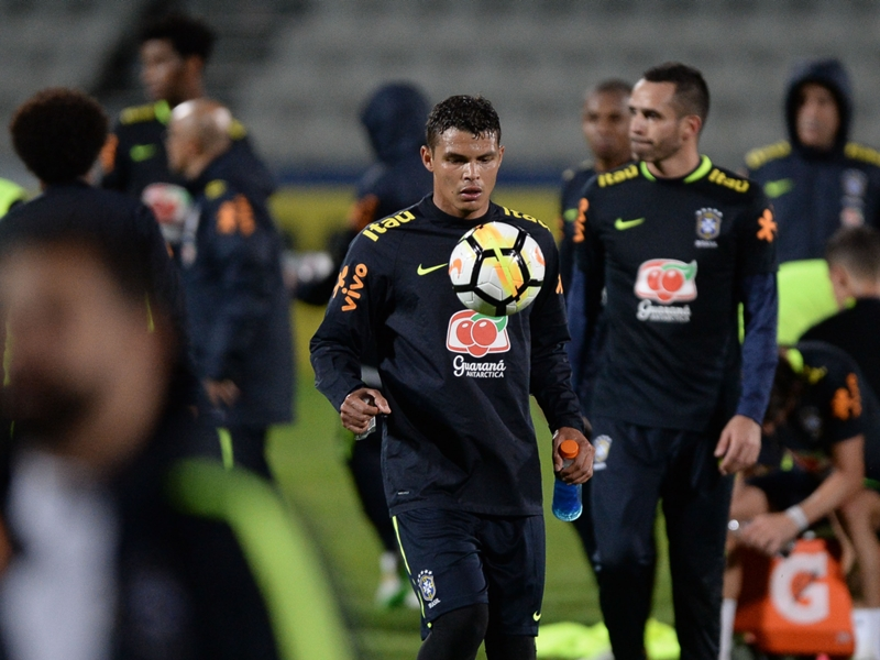 47 minutes in 24 months - Thiago Silva set for first Brazil start in two years!