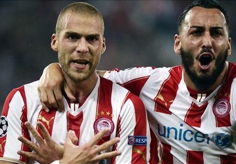 Résumé de match, Olympiakos-Juventus (1-0)