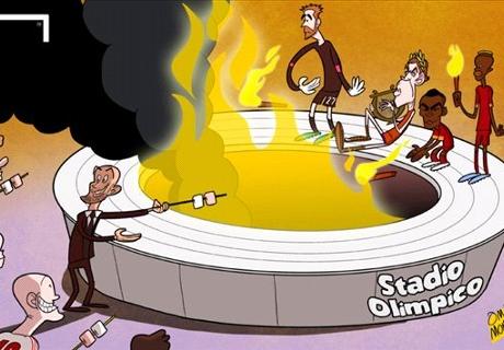Caricatura: Bayern Munich disfruta