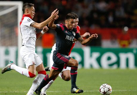 Champions: Mónaco 0-0 Benfica