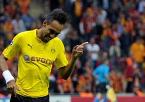 Pierre-Emerick Aubameyang (0-1) | Galatasaray 0 Borussia Dortmund 4 | Champions League