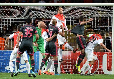 Ten-man Benfica thwart Monaco