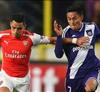 FT: Anderlecht 1-2 Arsenal