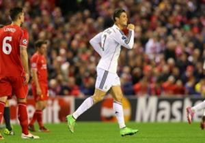 Cristiano Ronaldo Liverpool Real Madrid Champions League 22102014