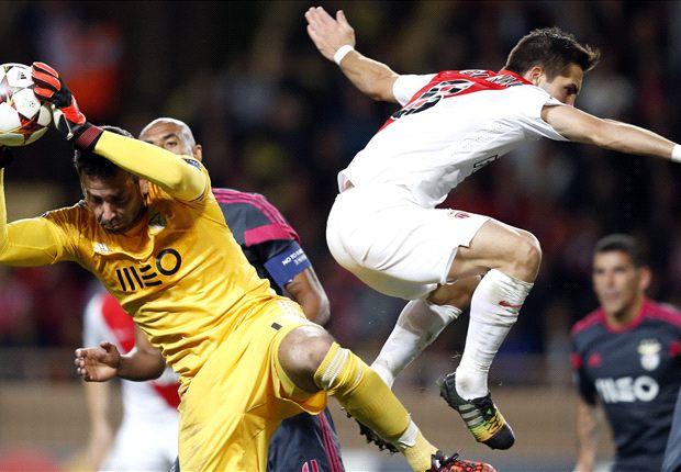 Monaco 0-0 Benfica: Tense goalless stalemate at Stade Louis II