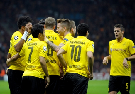 Galatasaray 0-4 Dortmund: Big win