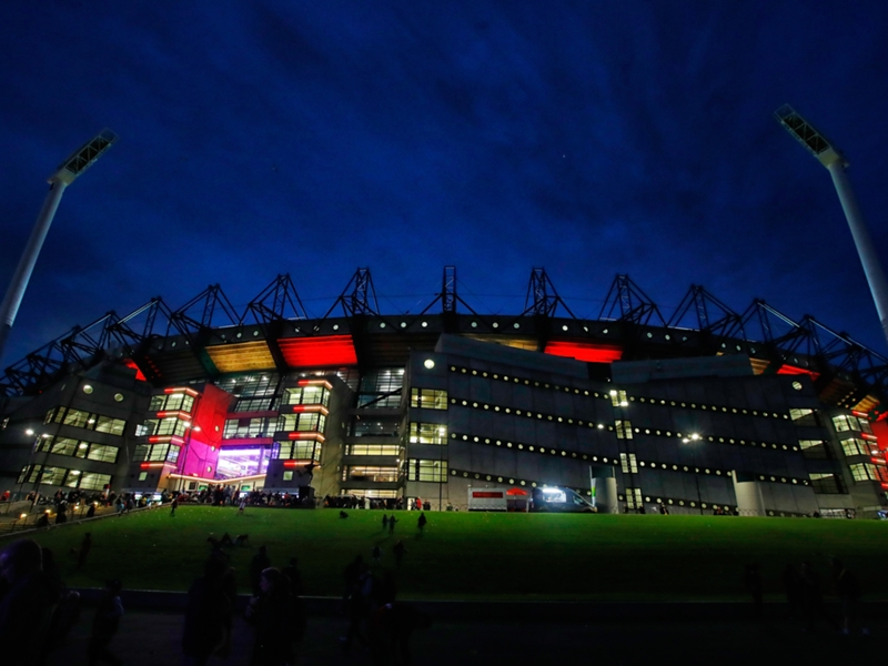 Chevrolet Brasil Global Tour Venues: Melbourne Cricket Ground