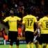 Adrian Ramos (l.) setzte gegen Galatasaray den Schlusspunkt