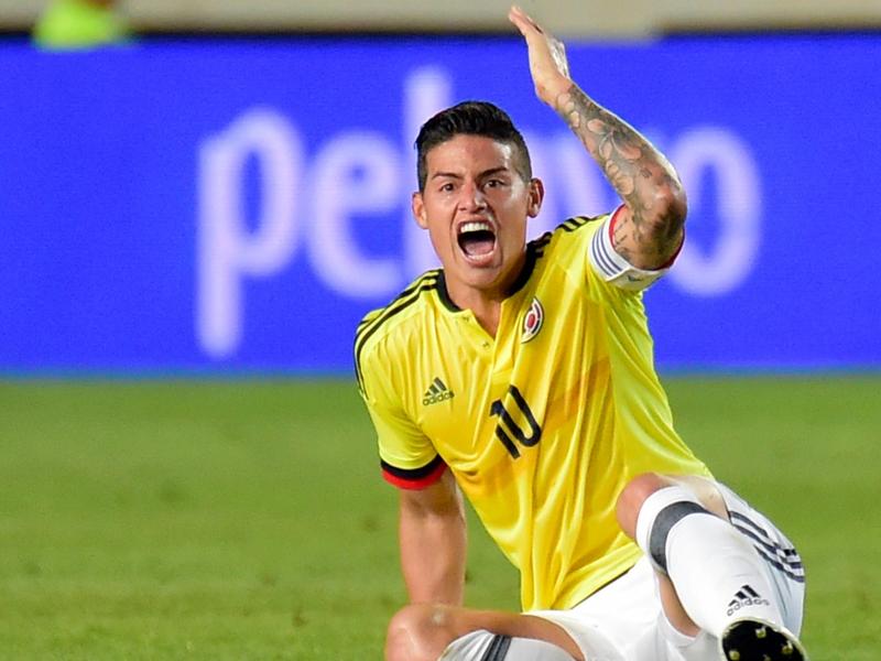 Internacional: Bayern impede James de defrontar a Venezuela