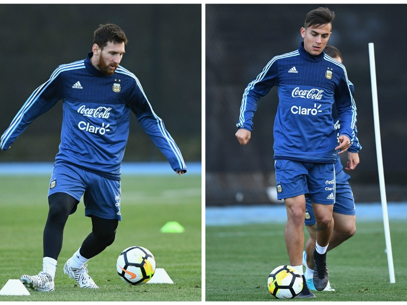 Sampaoli: Messi & Dybala can take Argentina to a new level