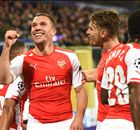 Podolski trolls Spurs over second place