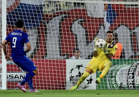 Olympiakos 1-0 Juventus 0: GK heroics