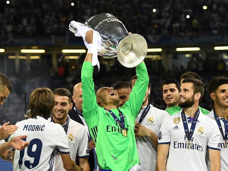 I did my best to show gratitude to Zidane, says Real Madrid goalkeeper Navas