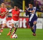 Anderlecht 1-2 Arsenal: Late rally