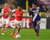 Anderlecht 1-2 Arsenal: Gibbs, Podolski score late for Gunners