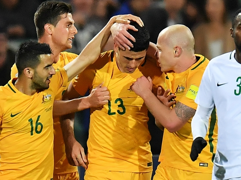 Australia 3 Saudi Arabia 2: Rogic stunner gives hosts huge World Cup boost