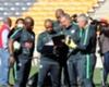 Stuart Baxter and his Bafana Bafana technical team