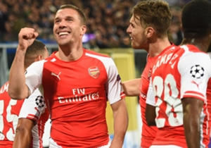 Anderlecht 1 Arsenal 2 | Champions League