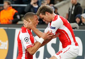 Arsenal lo ganó sobre la hora.