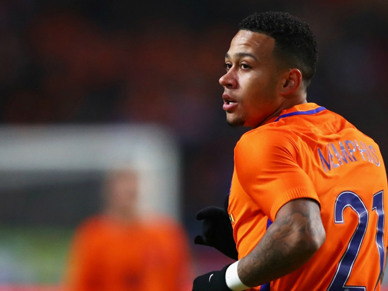'It's all in the past now!' - Depay downplays Robben row following Netherlands victory