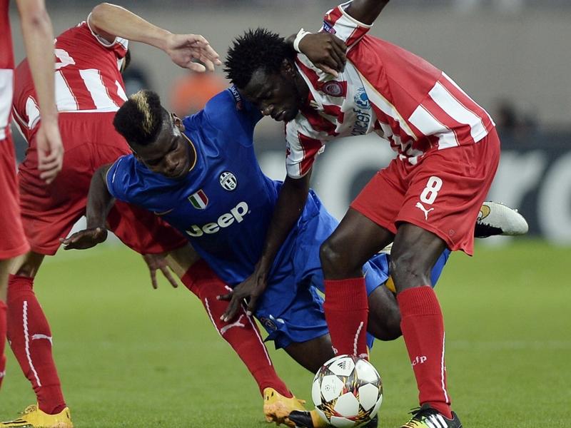 Ultime Notizie: Juventus sconfitta dall'Olympiacos, Pogba amareggiato: