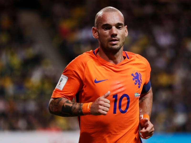 'I've had to make a lot of sacrifices' - Sneijder revels in becoming Netherlands' most-capped player