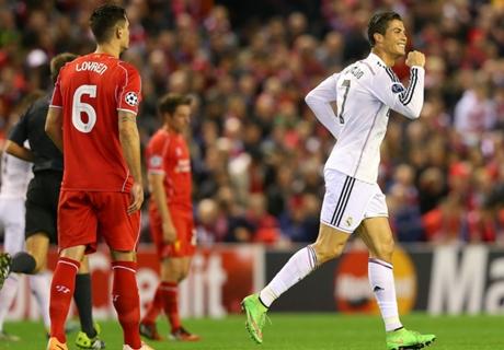 CR7, a un gol del récord de Raúl
