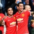 Rafael Da Silva Angel Di Maria Manchester United English Premier League 05102014