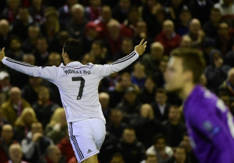 Geniale Momente: CR7 trifft in Anfield