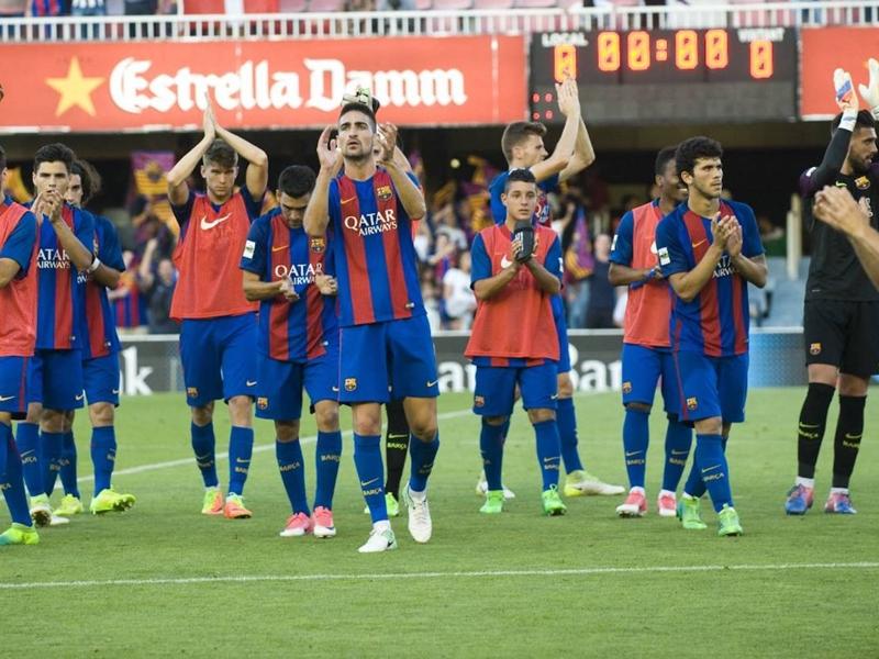 Le Barça B remonte en deuxième division deux saisons après
