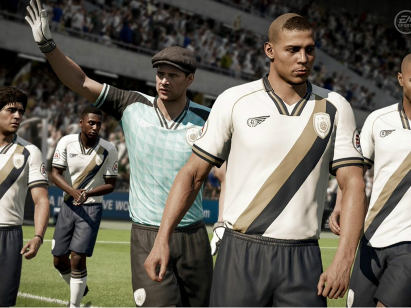 FIFA 18 fans point out Ronaldo Nazario blunder as ratings are released