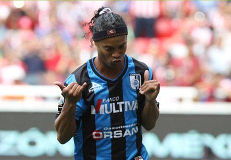 Querétaro pide compromiso a Ronaldinho