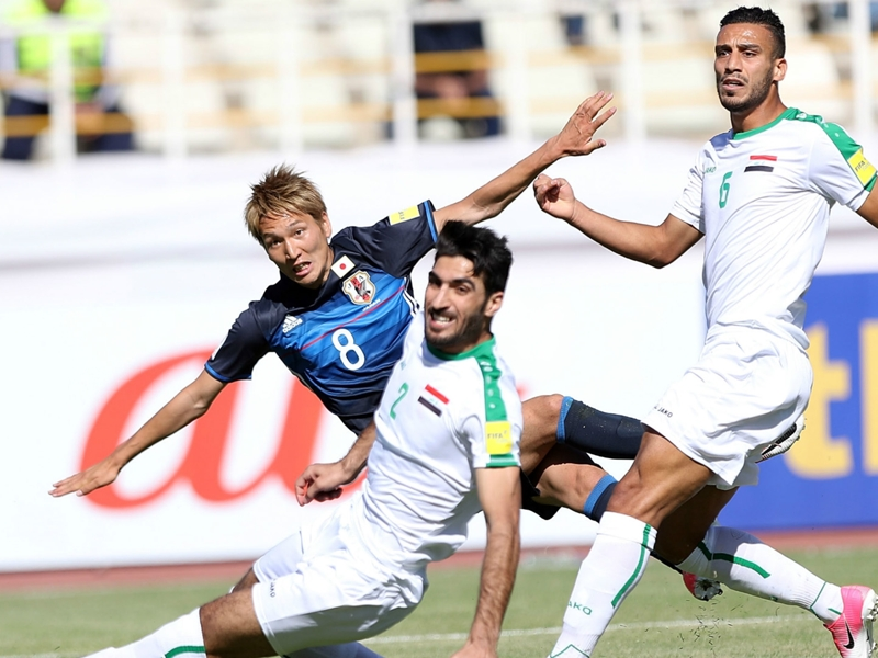 Iraq 1 Japan 1: Yoshida lapse costs Group B leaders