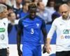 City target Mendy limps off for France