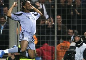 Didier Drogba avec Marseille lors de la campagne 2003-2004