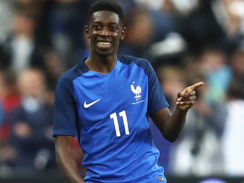 Dembele: I had contact with Barcelona last year