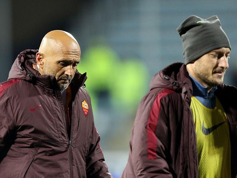 Spalletti regrets 'dividing' Roma and Totti