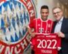 New Bayern Munich signing Corentin Tolisso