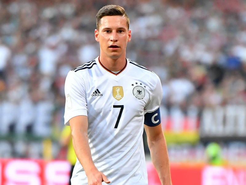 Draxler released from Germany squad for Russia on compassionate leave