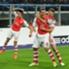 El de Podolski sí lo festejó con todo...