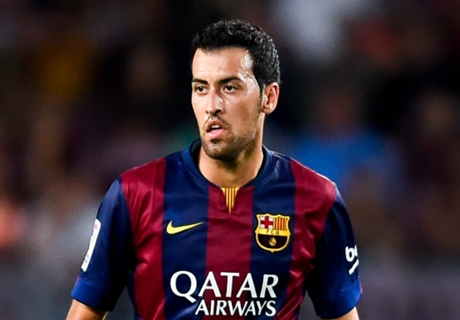 Busquets ruled out of Rayo clash