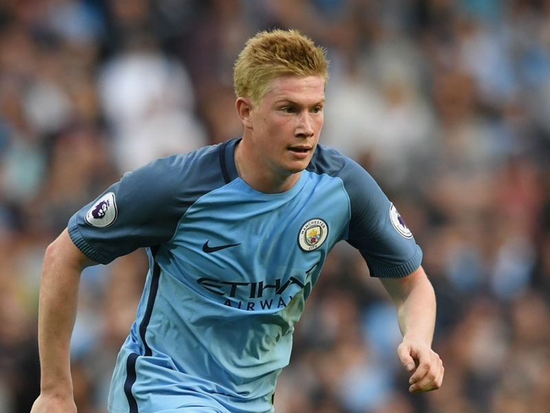 De Bruyne includes three Man City transfer targets in his Team of the Season