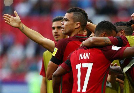 FT: Portugal 2-2 Meksiko