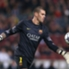Victor Valdes in action for Barcelona