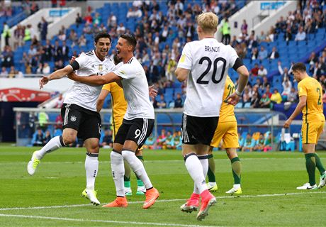 FT: Australia 2-3 Jerman