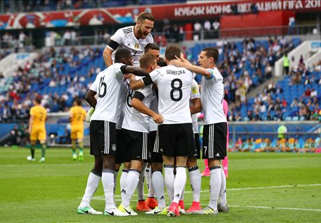 Germany inch past Australia