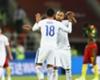 El XI de Chile contra Alemania
