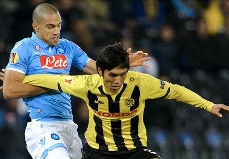 Young Boys too strong for Napoli