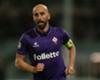 Borja Valero con la maglia della Fiorentina